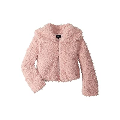 Bardot Junior Lexi Fluffy Jacket (Big Kids) (Lotus) Girl