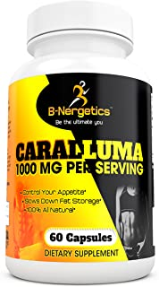 B-Nergetics Caralluma Extract 1200mg per Serving, All Natural Weight Management Supplement, 1 Month Supply