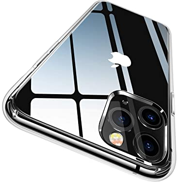 CASEKOO Crystal Clear Compatible with iPhone 11 Pro Max Case, [Anti-Yellowing] Shockproof Protective Hybrid Phone Cases Slim Lightweight Cover (6.5 inch) 2019 - Crystal Clear