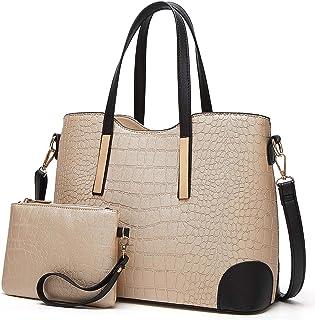 38e90d75d1e217 YNIQUE Satchel Purses and Handbags for Women Shoulder Tote Bags Wallets