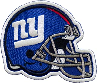 NY Helmet. Patch Iron On. Sew On. Size 3'' x 4'' (75mm x 100mm)
