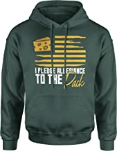 INKpressionists Green Bay Football Fans - I Pledge Allegiance to The Pack Flag Classic Hoodie