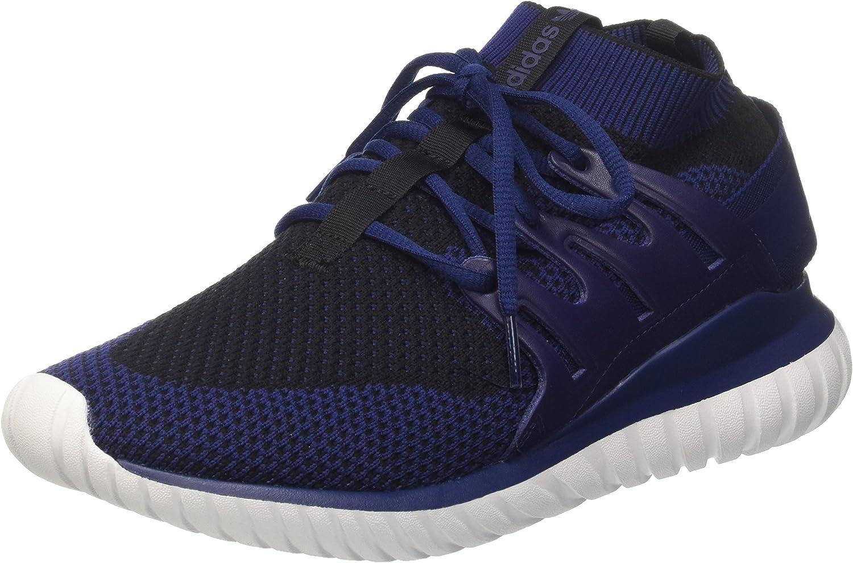 Adidas Men's's Tubular Nova Pk Gymnastics shoes, blue (Dkbluee Cblack Ftwwht), 45 1 3 EU