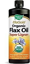Nature's Way EfaGold Organic Flax Oil Super Lignan, 24 Ounce