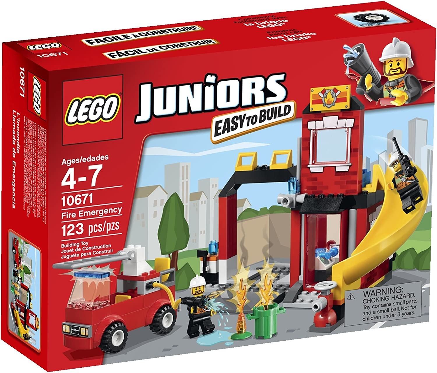 ofrecemos varias marcas famosas LEGO Juniors Fire Fire Fire Emergency 10671 Building Set by LEGO Juniors  suministramos lo mejor
