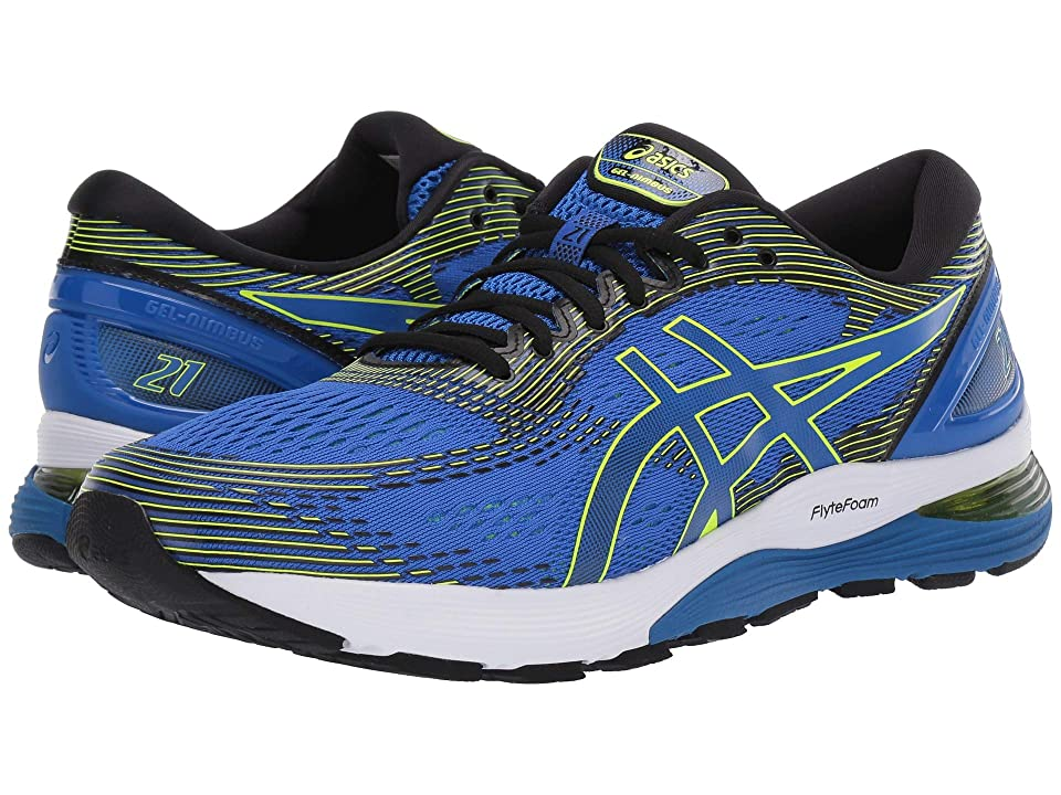 ASICS GEL-Nimbus(r) 21 (Illusion Blue/Black) Men's Running Shoes