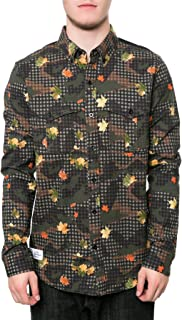 LRG Men's Desert Check LS Buttondown Shirt