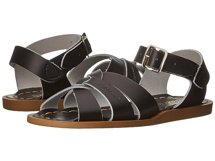 Salt Water Sandal by Hoy Shoes  The Original Sandal (Toddler/Little Kid) (Black) Kids Shoes