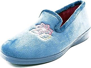 Selquir 3010 10 Azulon, Pantofole Donna
