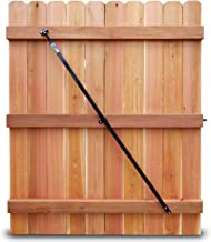 True Latch Gate Brace - Wood Privacy Fence Anti Sag Gate Kit - 1 Piece Construction 64