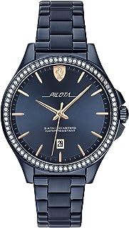 ساعة سكوديريا فيراري بيلوتا انالوج مينا زرقاء للسيدات - 0820031