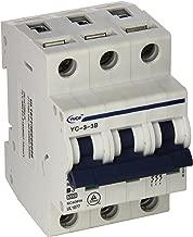 Yc-3-3B Yuco Din Rail Miniature Circuit Breaker 3P 3A B Curve 277/480V 50/60Hz Tuv Ul 1077 European Design Csa C22.2