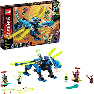 LEGO NINJAGO Jay's Cyber Dragon 71711 Ninja Action Toy Building Kit, New 2020 (518 Pieces)