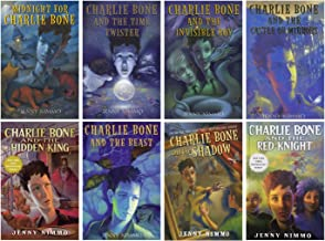 Charlie Bone Book Series Hardcover Vol. 1-8: Midnight for Charlie Bone / Time Twister / Invisible Boy / Castle of Mirrors...