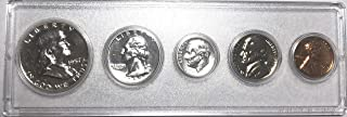 1957 P Silver US Proof set Comes In Hard Plastic Holder Proof