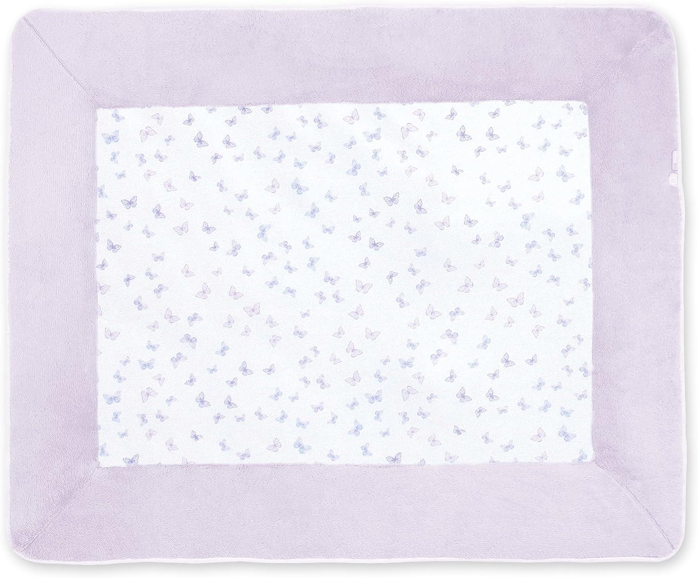 Bemini by Baby Boum 219LOVMI59JP Laufstalleinlage Krabbeldecke Jersey Lovmi Jasmin, 75 x 95 cm, lilat