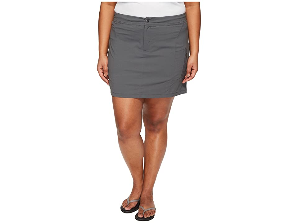 Columbia Plus Size Just Right Skort (Grill) Women