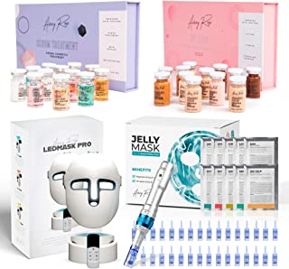 Sponsored Ad - Avery Rose BB Glow +Avery Pen A6 with 32 Cartridges of Pins + Serum treatment kit with 12 vials + LED Mask ...