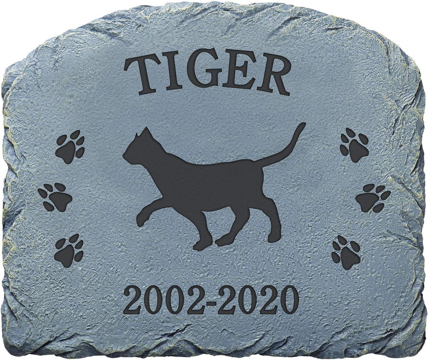Let's Make Memories Personalized Choice Memorial - Garden Pet Stone OFFicial store Mem