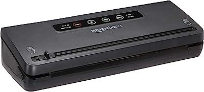 AmazonBasics Vacuum Seal System, Black