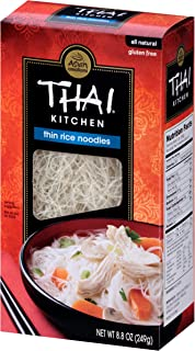 Thai Kitchen Gluten Free Thin Rice Noodles, 8.8 Ounce (Pack of 6)
