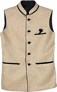 BIS Creations Men's Cotton Nehru Jacket