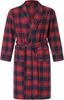 Men's Cotton Flannel Robe