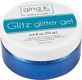 Gina K Designs GINA K Glitz Glitter Blue, us:one Size