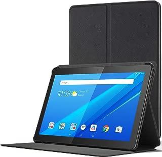 Forefront Cases Cover for Lenovo Tab M10   Magnetic Protective Case Cover and Stand for Lenovo Tab M10 10.1 Inch   Elegant Slim Lightweight   Black
