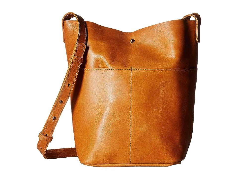 ABLE Selam Crossbody (Cognac) Cross Body Handbags