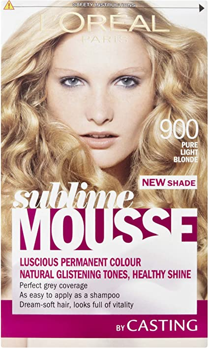 L Oreal Paris Sublime Mousse pelo Colorante Luz Pura Rubio 900