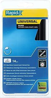Mifive 35 piezas palillos de pegamento caliente del derretimiento de 7 mm diametro 190 mm de longitud de plastico negro
