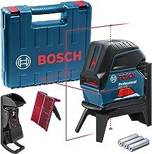 Nível a Laser de linhas 15 metros com pontos de prumo Bosch GCL 2-15 em Maleta