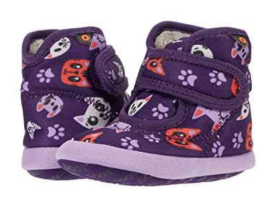 Bogs Kids Elliott II Kitties (Infant/Toddler) (Purple Multi) Kid