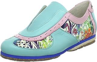 Stork Steps Samurai A7 - Zapatos de Cordones de Cuero para Mujer