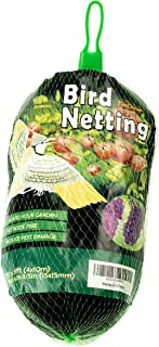 PetiDream Bird Netting -Stops Hawks,Birds from Plants,Fruit Trees and Vegetables - Perfect as Garden Netting and Protective Net in 13ftx 33ft,Black