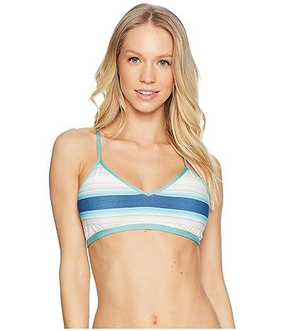 Carve Designs Stinson Bikini Top (Playa Stripe) Women