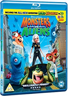Monsters VS Aliens | Blu-ray | Arabic & English | Rare Edition
