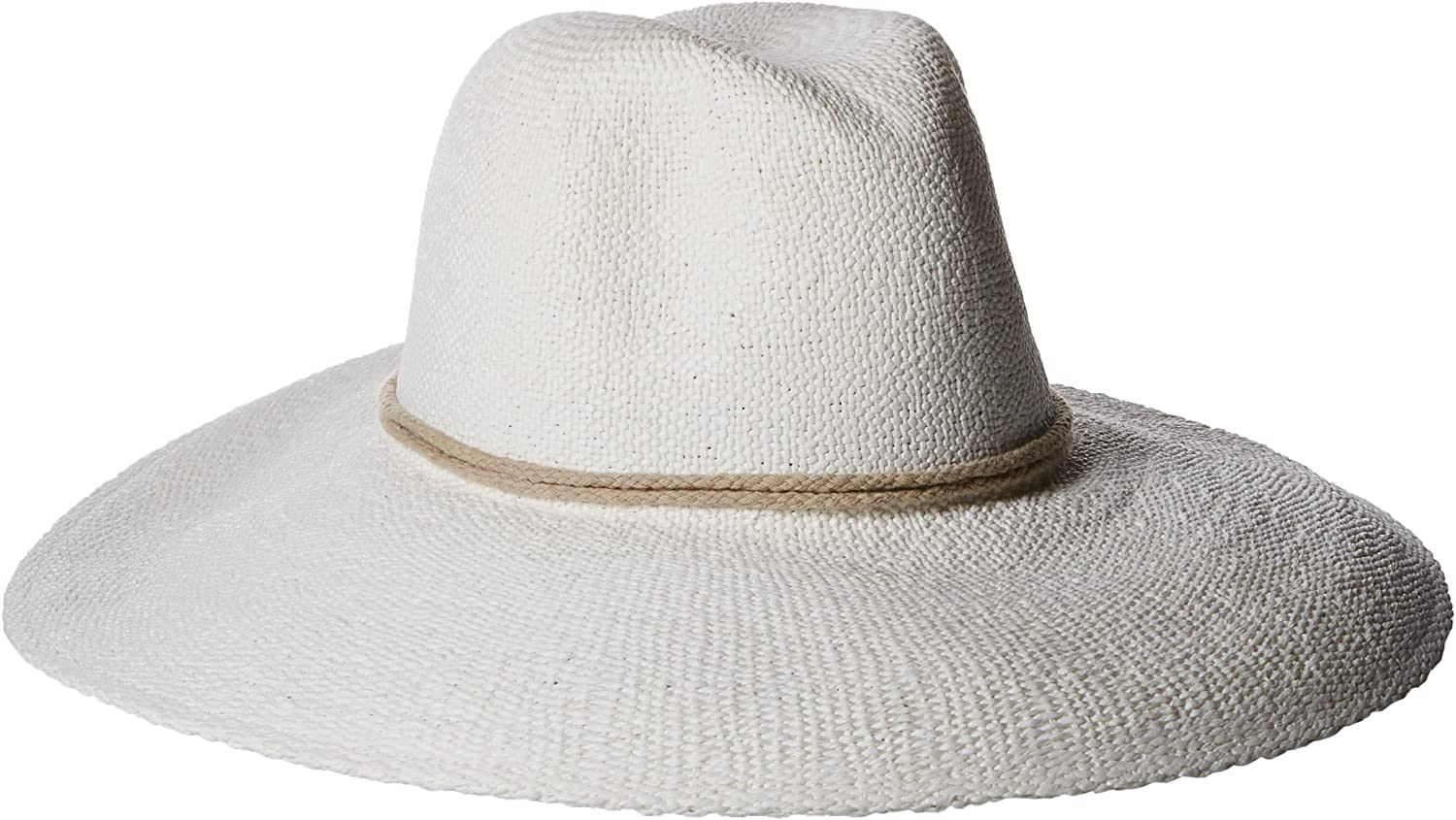 'ale by alessandra Women's Praia Woven Toyo Hat with Rope Trim