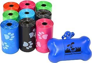 مرکز خرید حیوانات اهلی مرکز شهر 180 ، 220 ، 500 ، 700 ، 880 ، 960 ، 2200 کیسه های ضایعات پت سگ ، رول فله ، پر کردن تمیز کردن-- (سبز ، آبی ، بنفش ، قرمز ، سیاه ، صورتی ، رنگین کمان رنگها یا چاپ پنجه) + ضسبنسرس رایگان استخوان