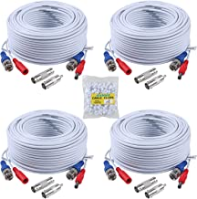 ANNKE Security Camera Cable (4) 30M/ 100ft All-in-One BNC Video Power Cables, BNC..