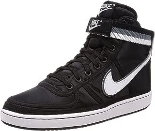 Nike Mens Vandal High Supreme Black/White-Grey Nylon Size 11