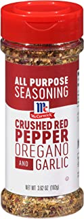 McCormick Crushed Red Pepper with Oregano and Garlic All Purpose Seasoning, 3.62 oz