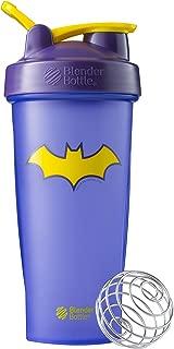 BlenderBottle Justice League Superhero Classic 28-Ounce Shaker Bottle, Batgirl