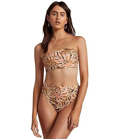 Billabong Hula Palm Sunny Tube Bikini Top (Multi) Women