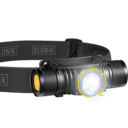 CW WOWTAC H01 614 Lumens Rechargeable CREE XP-G2 LED Headlight 16340