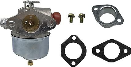 SHUmandala 632795A Carburetor Carb Replace for Tecumseh 632795 632750 632769 632772 633014 TVS75 TVS90 TVS100 TVS105 TVS115 TVS120 ECV100 TVXL90 TVXL105 TVXL115 LAV30 LAV35 LAV40