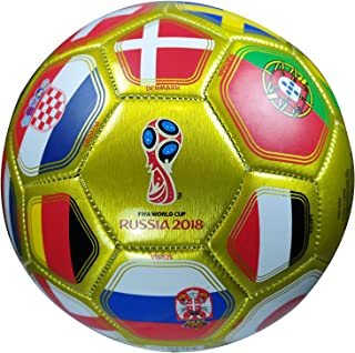 Icon Sports Group 2018 Russia World Cup Official Licensed Soccer Ball Size 5 Ball 01-1