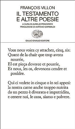 Il testamento e altre poesie (Collezione di poesia Vol. 426)