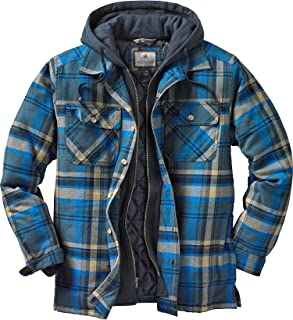 Mens Maplewood Hooded Shirt Jacket